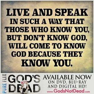 Gods Not DeadGospel